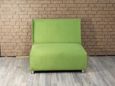 Диван Фаст-фуд велюр (зеленый)